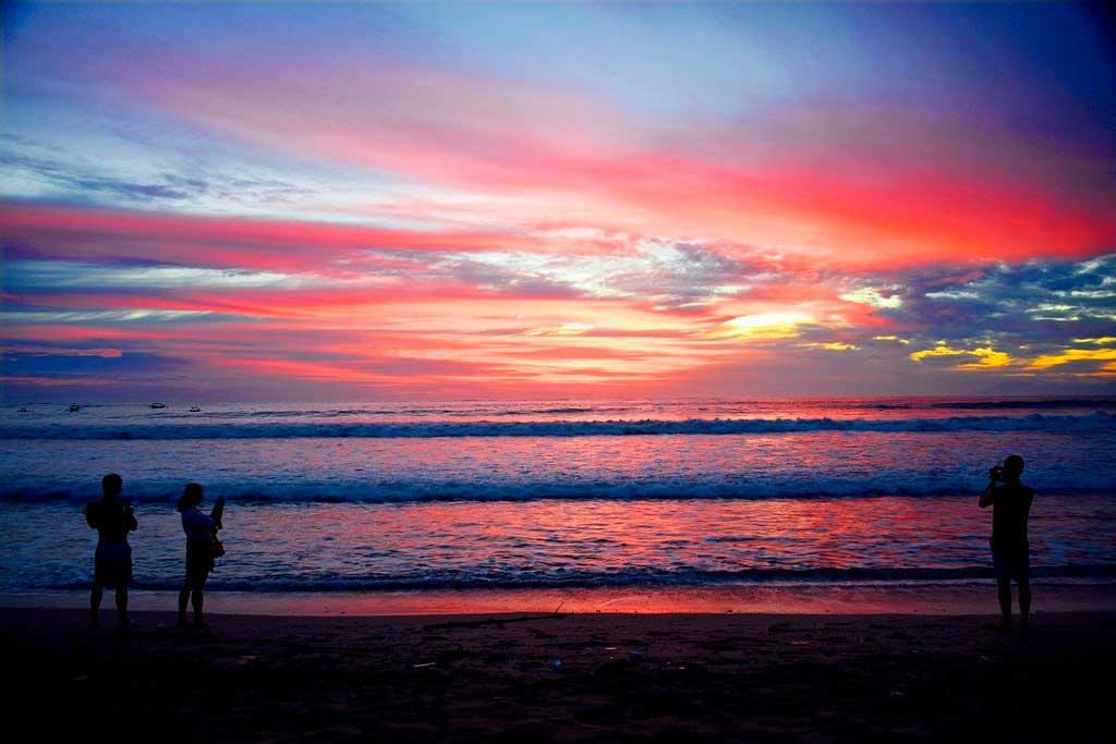Foto da Praia de Kuta