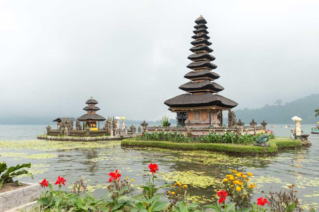 O que fazer em Bali: visitar o tempo Ulun Danu Bratan