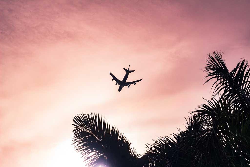 Voo para Bali