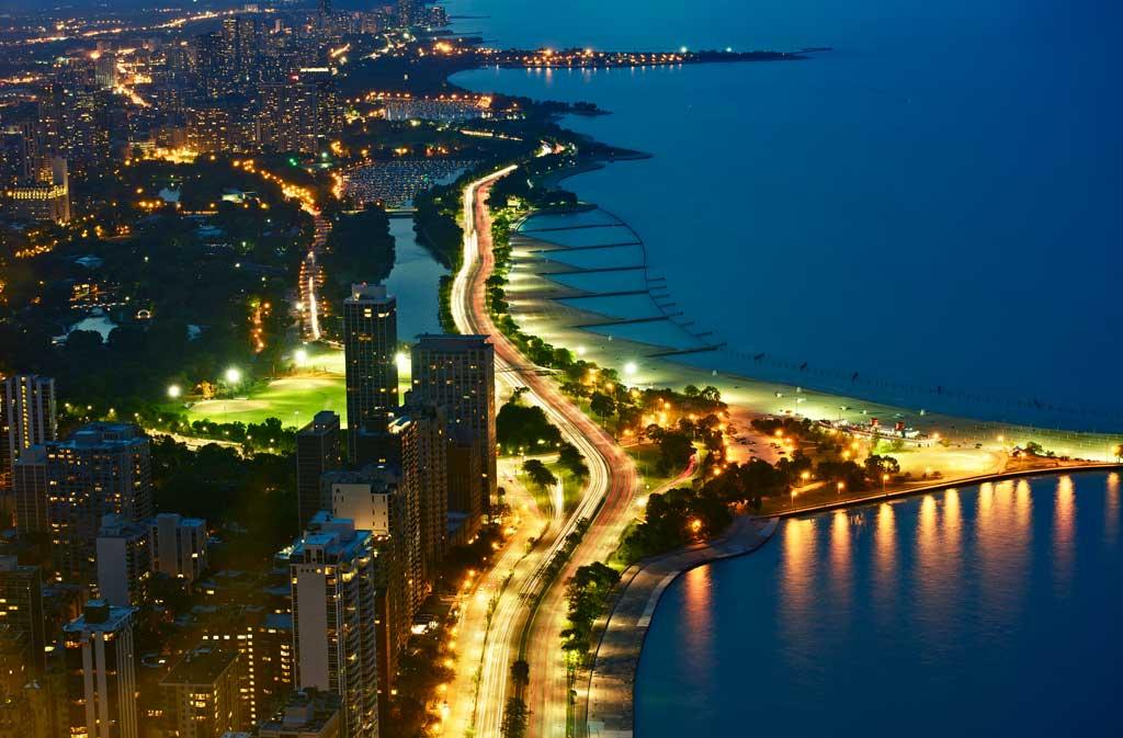 O que fazer em Chicago à noite