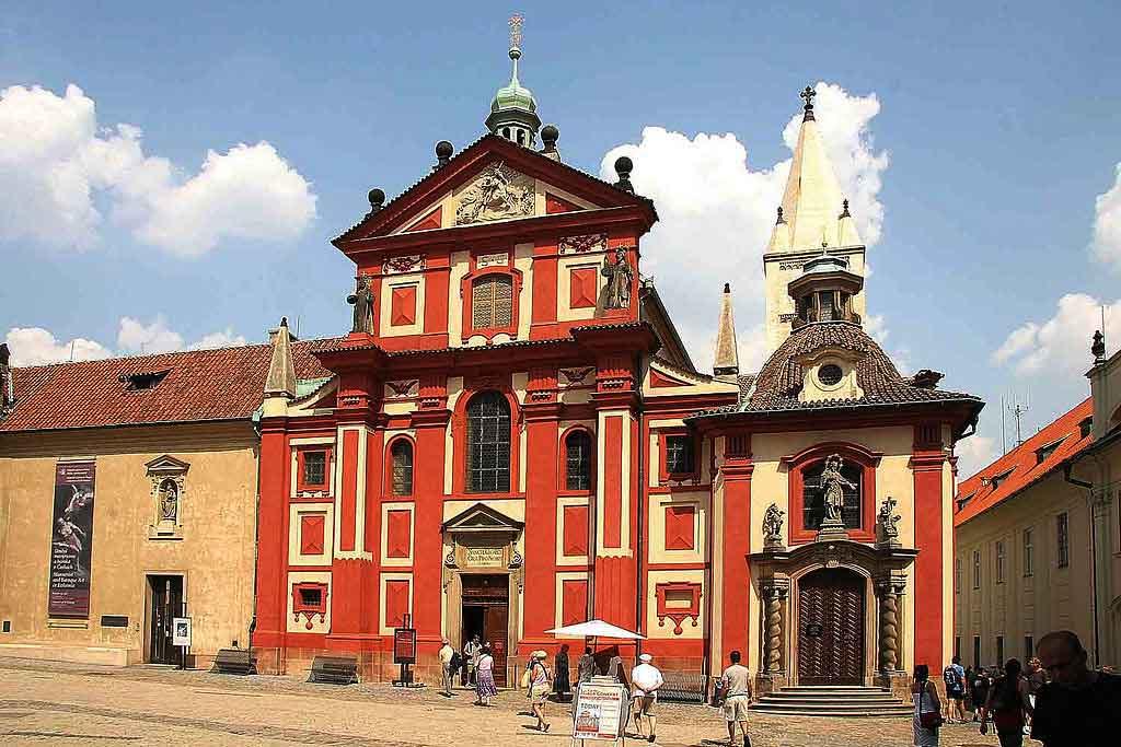 O que fazer em Praga, Basilica de St George