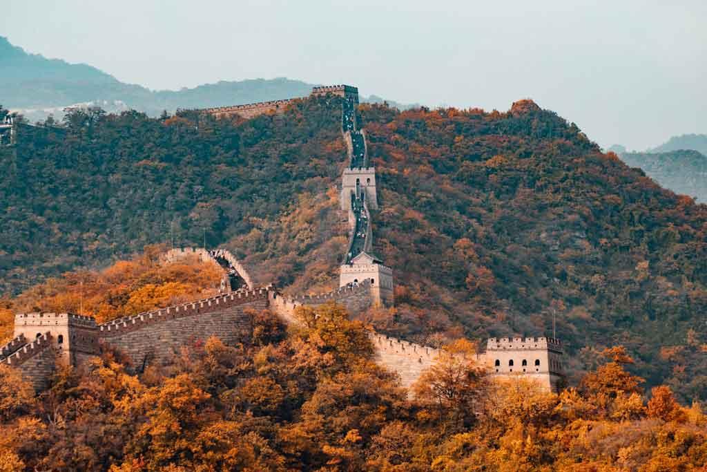 Foto da Grande Muralha da China