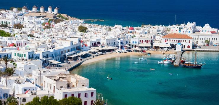 Roteiro Grécia Mykonos