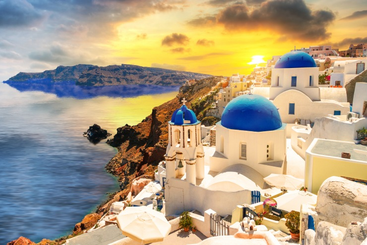 Roteiro Grécia Santorini