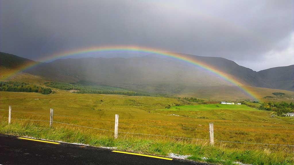 Arco-íris em Kerry