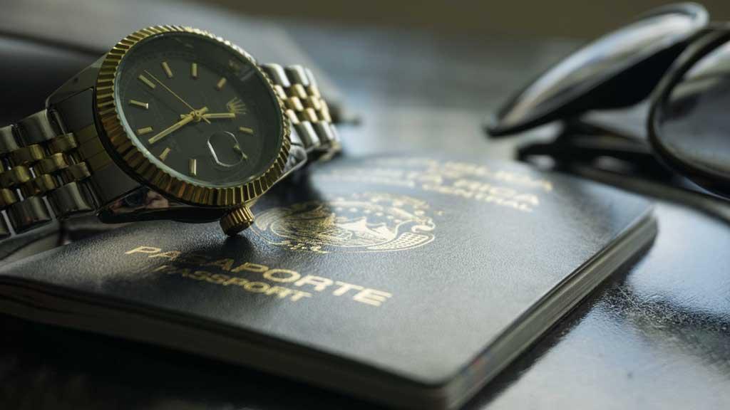Documentos para embarque Internacional: passaporte