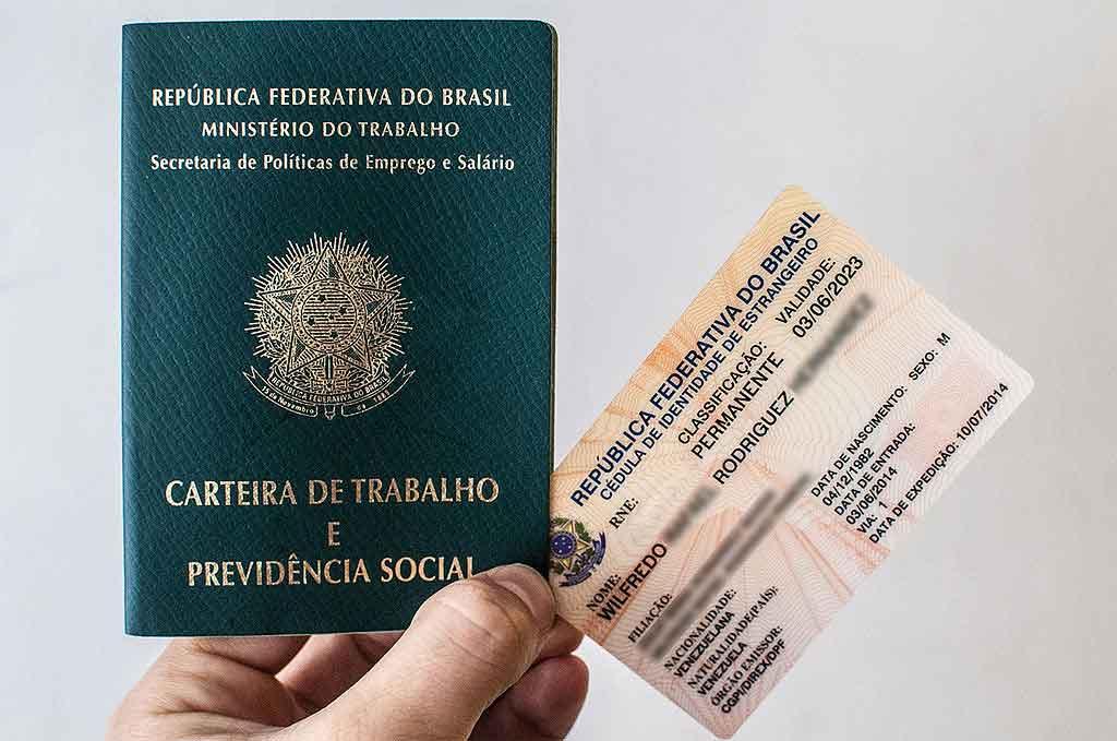 Carteira de trabalho brasileira