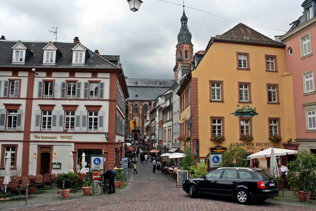 Conheça a cidade de Heidelberg