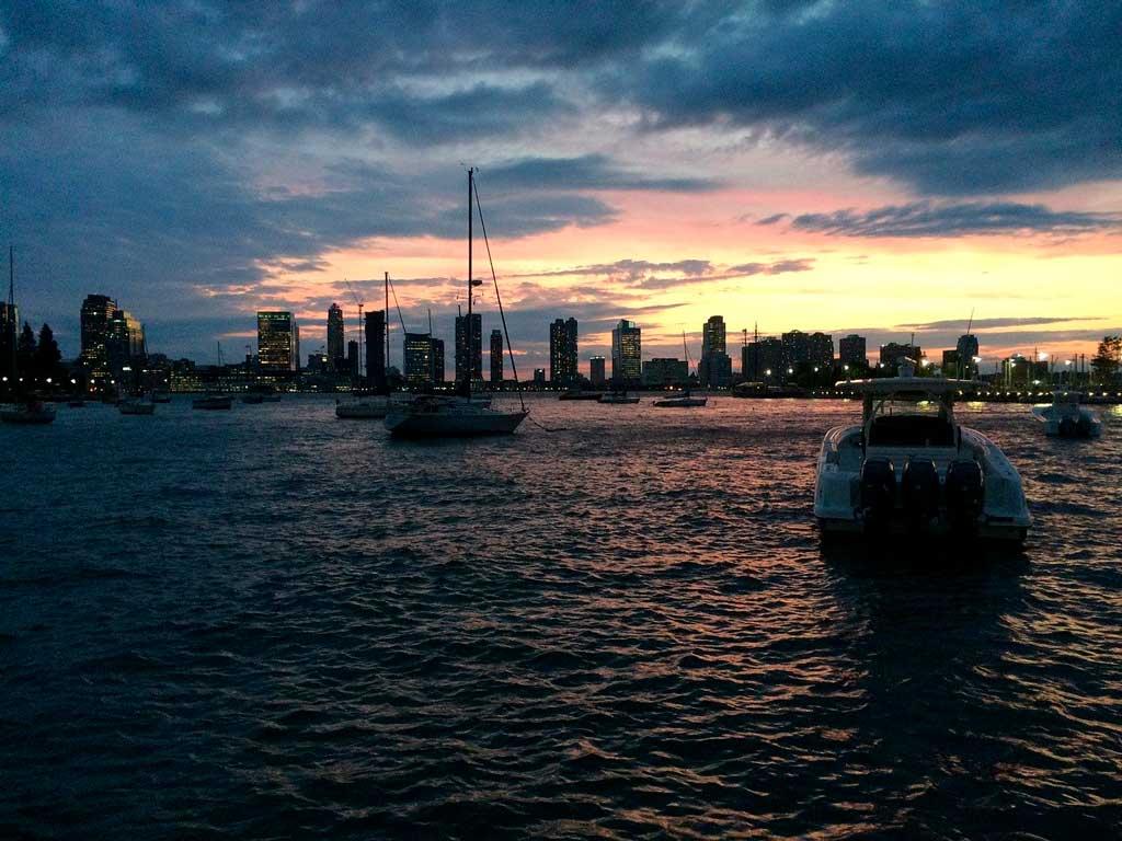 Passeio de barco por Manhattan