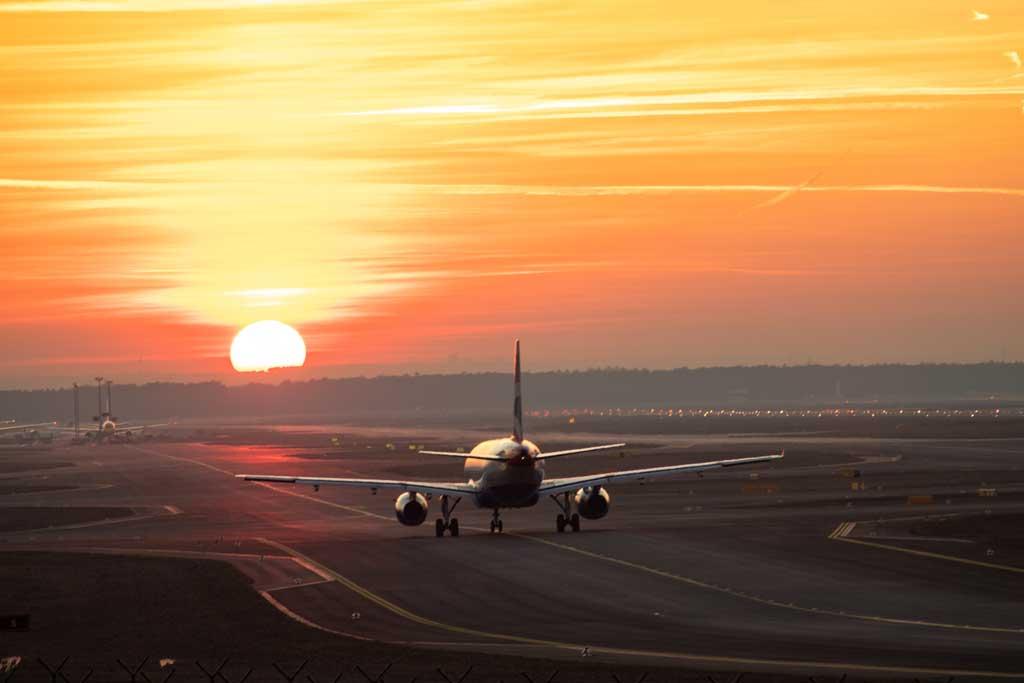 Melhor época para conhecer Frankfurt: voo
