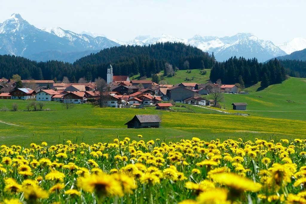 Primavera na Europa: cidades floridas