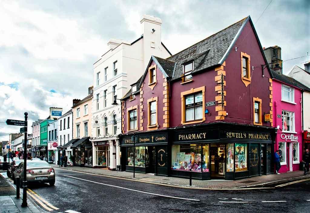 Cidades da Irlanda onde fica