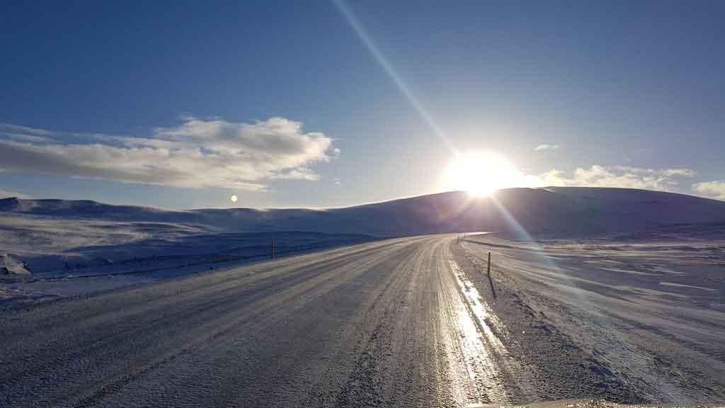 Melhor época para viajar para a Islândia