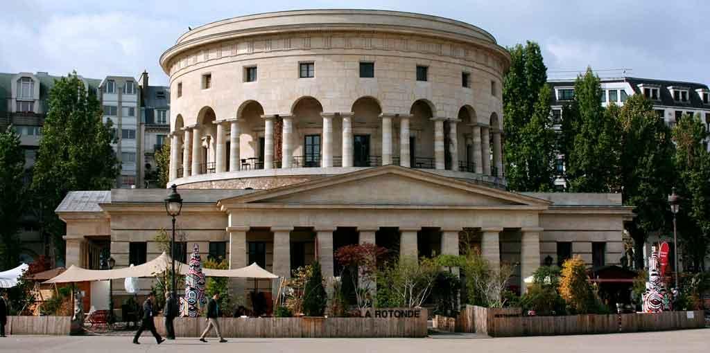 Cafés em Paris La Rotonde