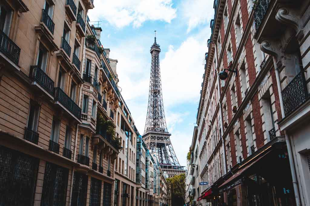 Jantar na Torre Eiffel