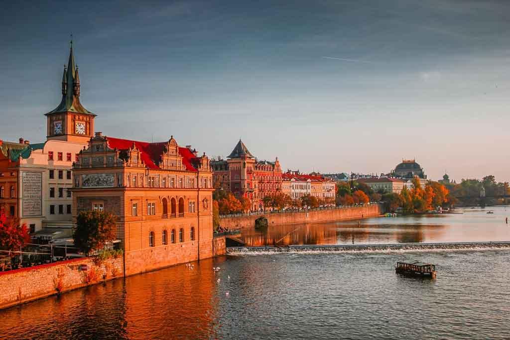 Cidade de Praga: onde fica