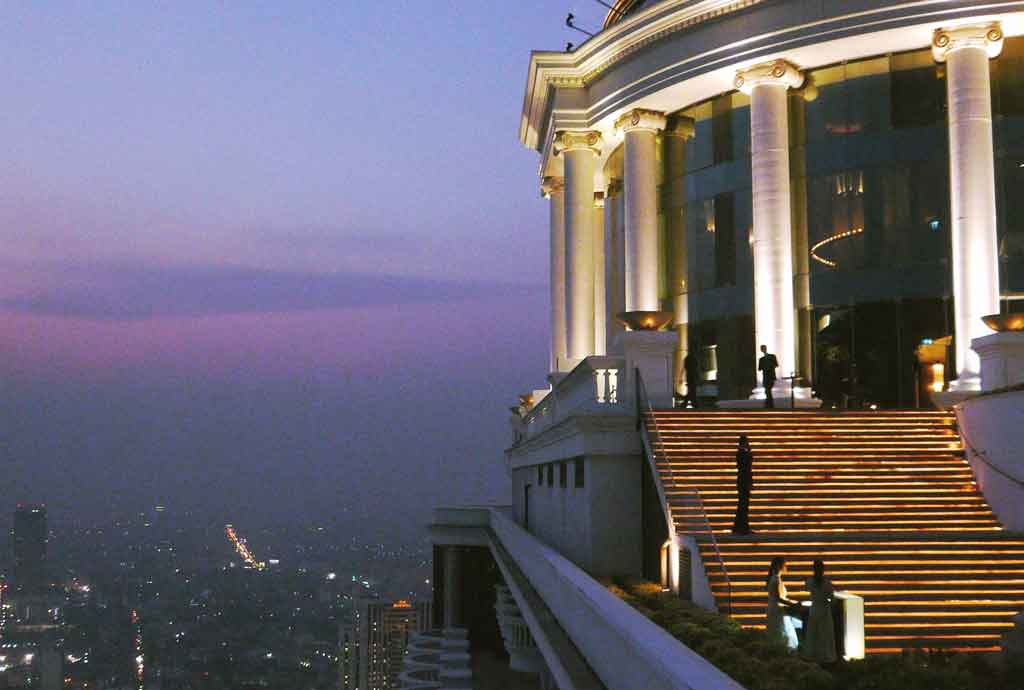 Sky Bar no Hotel Lebua
