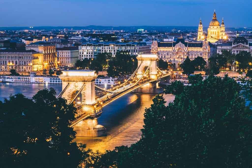 O que fazer em Budapeste: noite