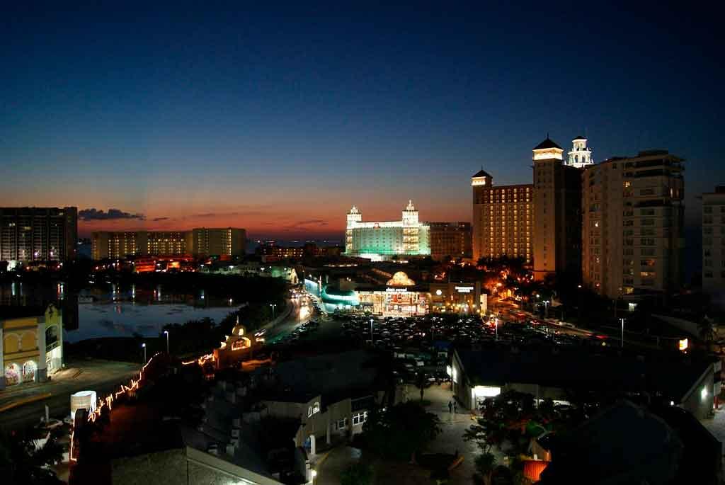 O que fazer em Cancún à noite