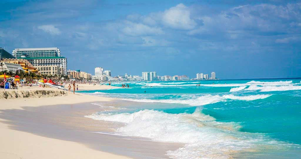 O que fazer em Cancún: praias