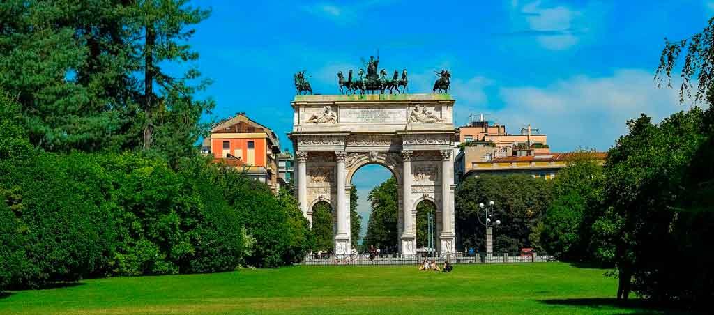 O que fazer em Milão: Parque Sempione