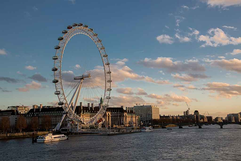 Pontos turísticos de Londres: London Eye