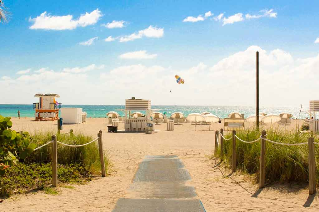 Praias de Miami: South beach