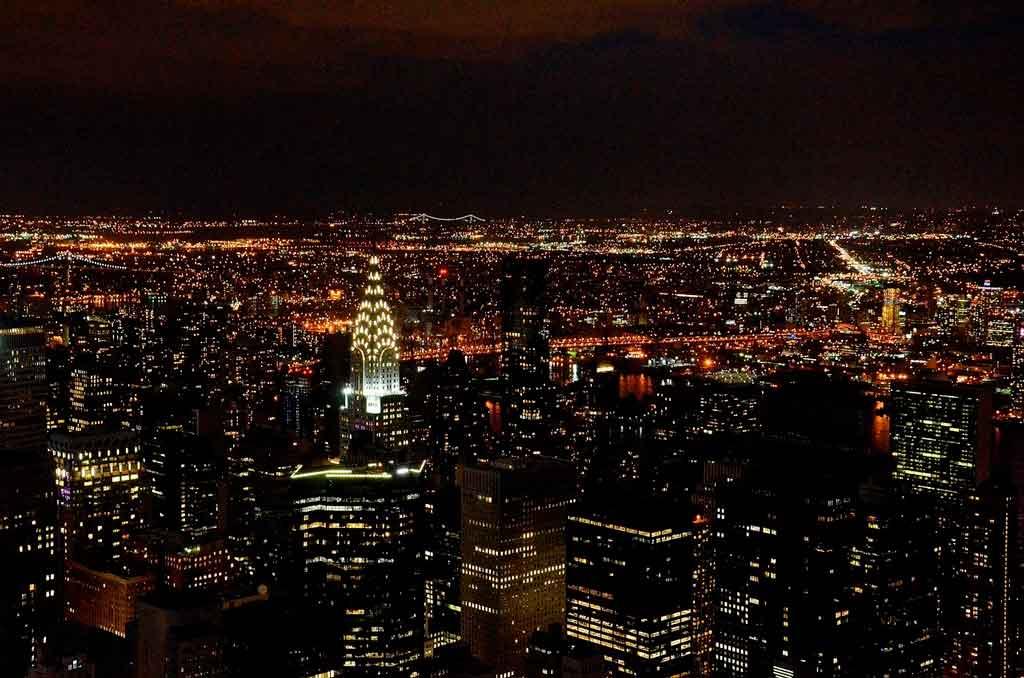 Roteiro Nova York a noite