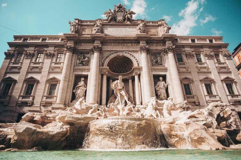 Fontana di Trevi de Roma