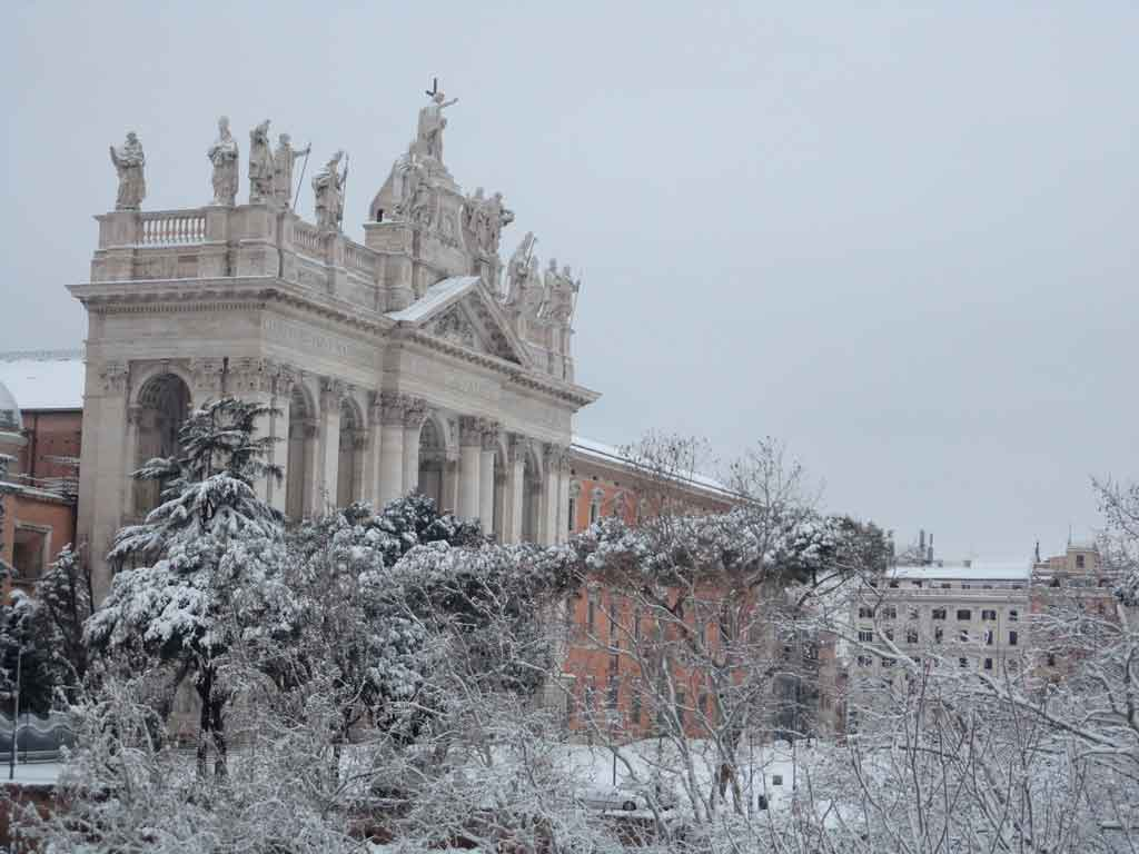 Turismo em Roma: inverno