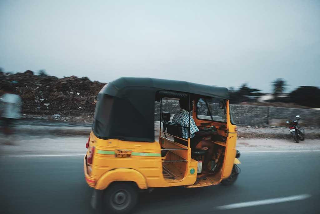 Viagem para Índia: meios de transporte