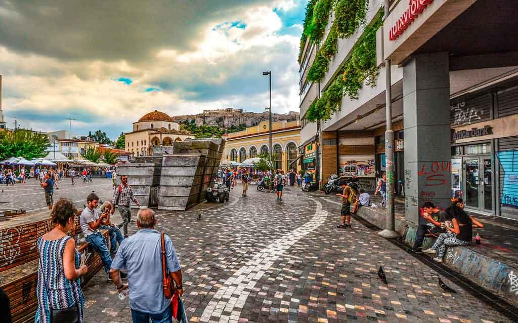 O que fazer em Atenas: Bairro Monastiraki