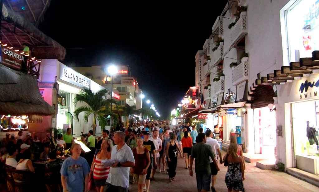 O que fazer em Playa del Carmen à noite