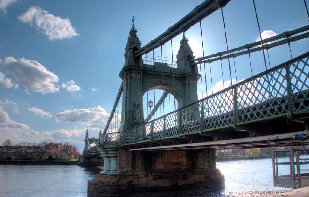 Pontes de Londres: Hammersmith Bridge