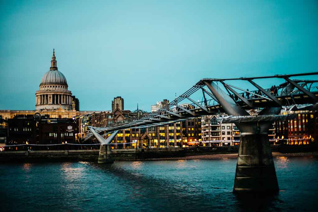 Pontes de Londres: Millenium Bridge