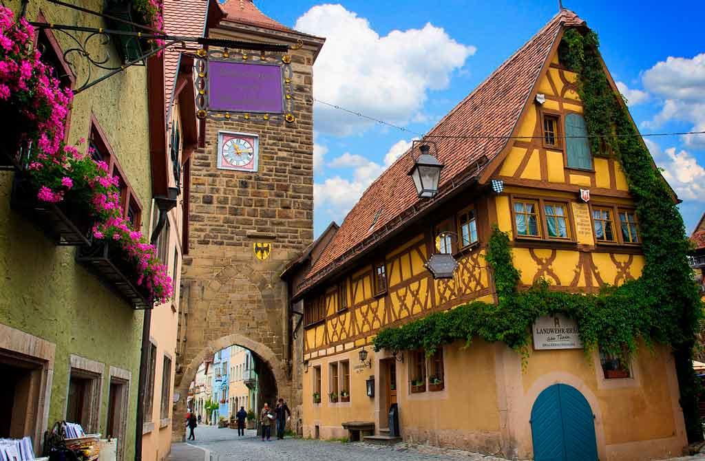 Cidades mais bonitas da Rota romântica Alemanha