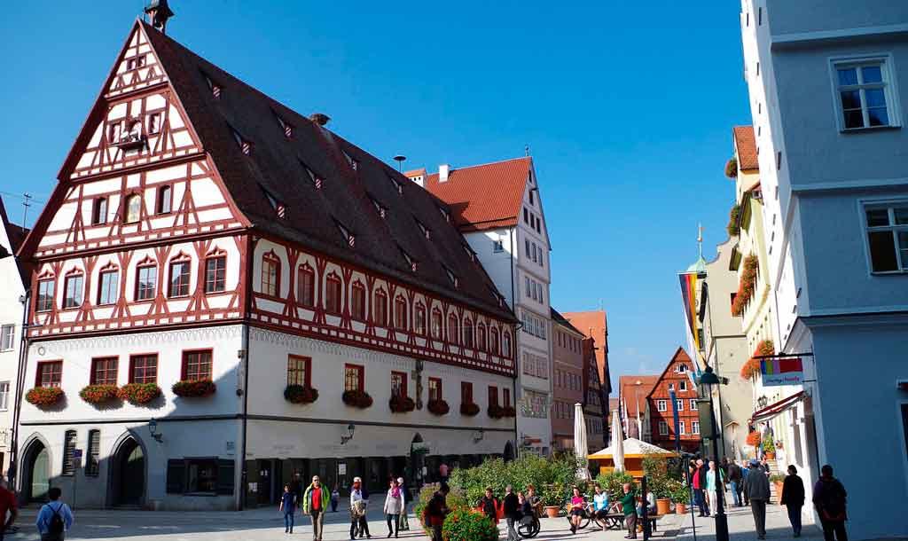 Rota romântica Alemanha: Nördlingen