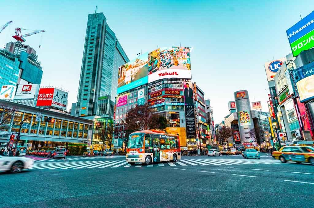 Tóquio: Shibuya Crossing