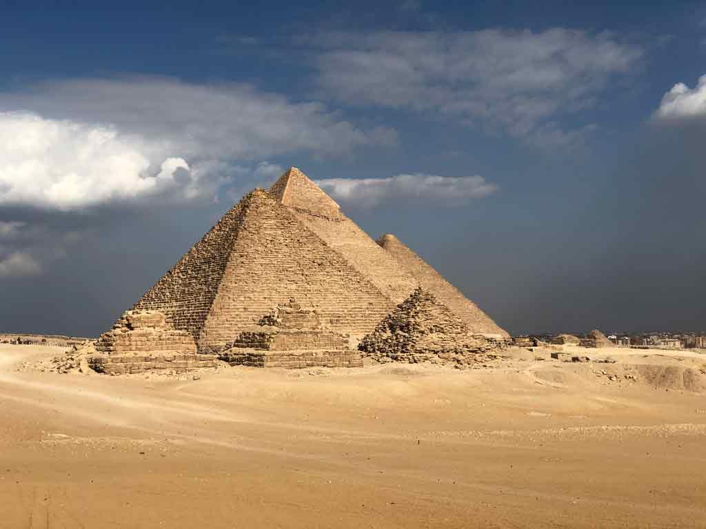 Turismo no Egito: Pirâmdes de Gizé