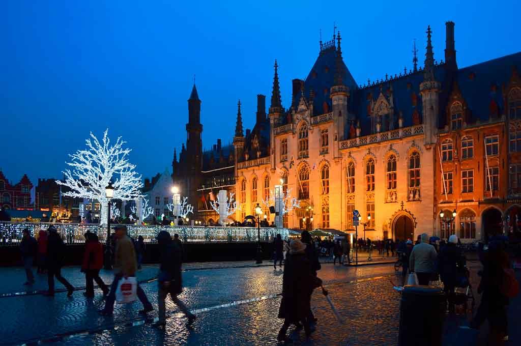 Bruges no inverno