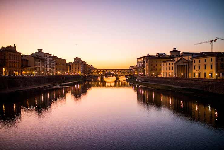 O que fazer em Florença à noite