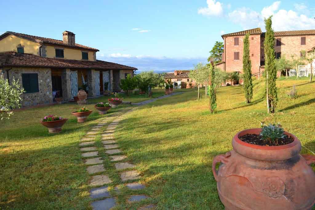 Onde ficam as Cidades da Toscana