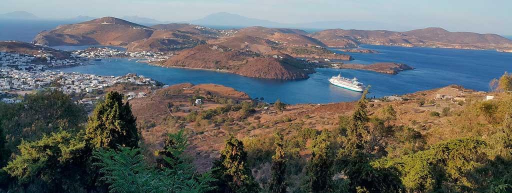 Ilhas gregas Patmos
