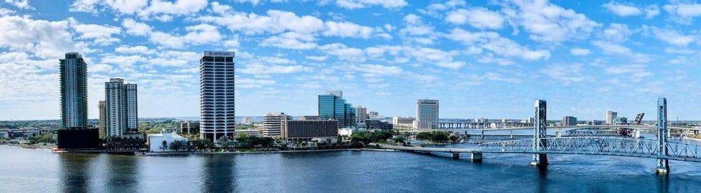 Mapa da Florida: Jacksonville