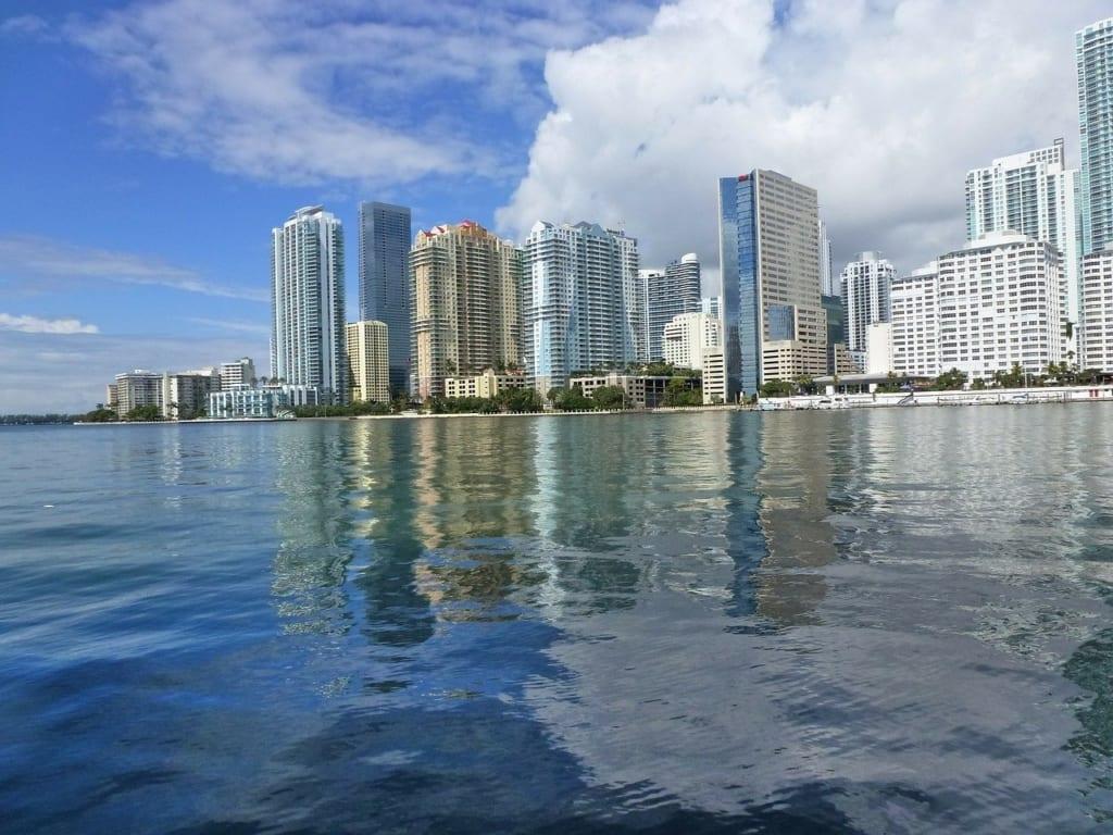 mapa da Florida: Miami