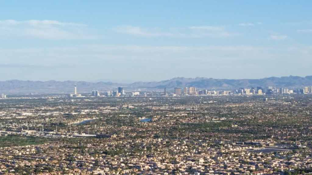 Mapa de Las Vegas: onde fica