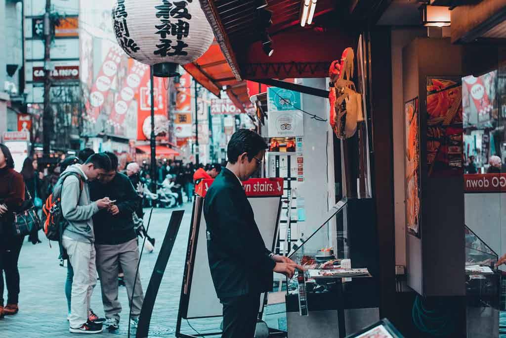 Como fazer compras no japão?