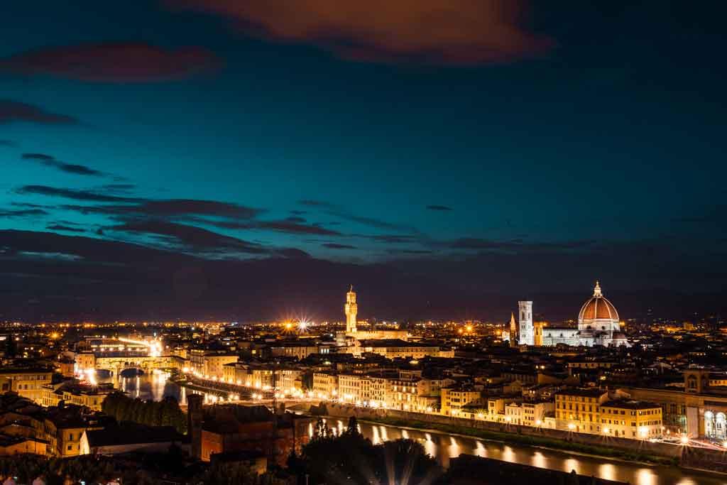 O que fazer em Florença à noite?
