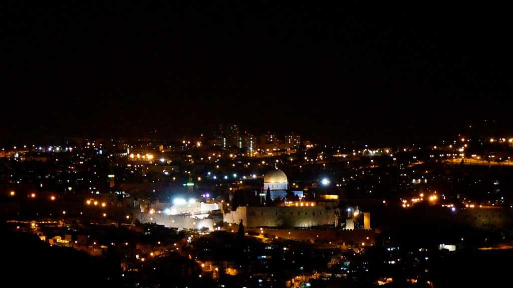 O que fazer em Jerusalém a Noite