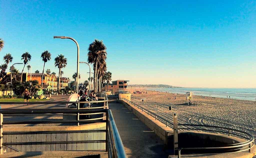 O que fazer em San Diego: Pacific Beach
